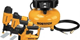 Compresor Bostitch 6-gallon Portable Electrico + 3 Pistolas $9899 MXN