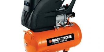 Compresor De Aire 24 Litros Con Manometro Ct224 Black&decker $3648 MXN