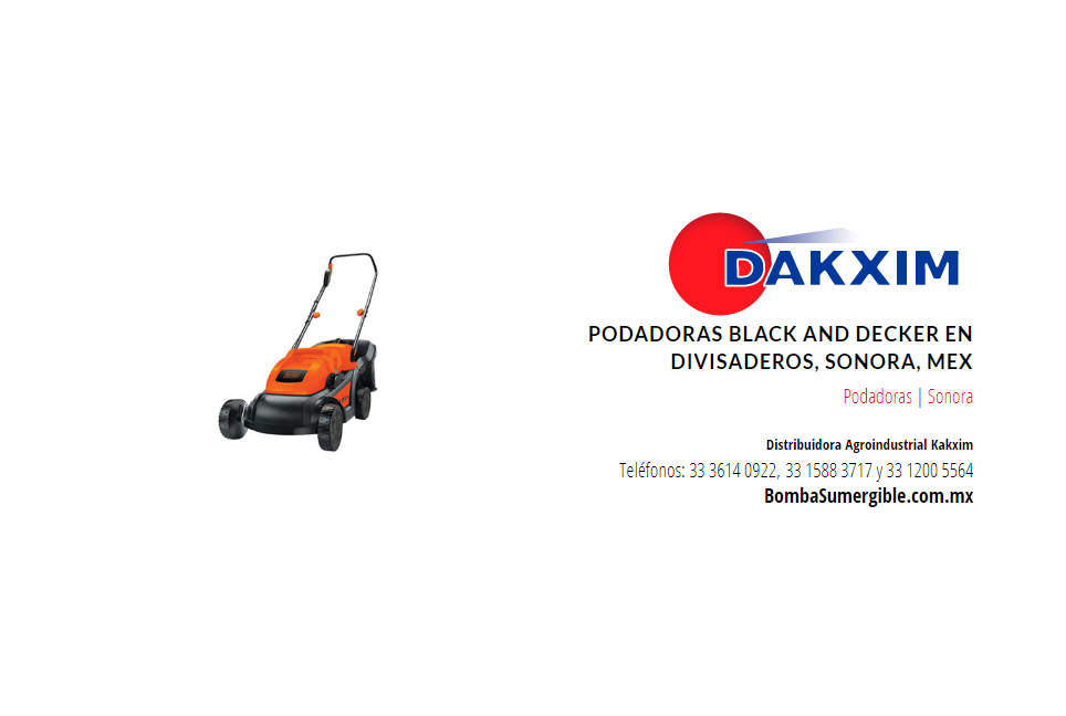 Podadoras Black And Decker en Divisaderos, Sonora, Mex