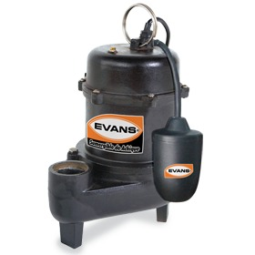 Bomba Sumergible Agua Sucia 1 Hp Evans Achique - Ssn2me100